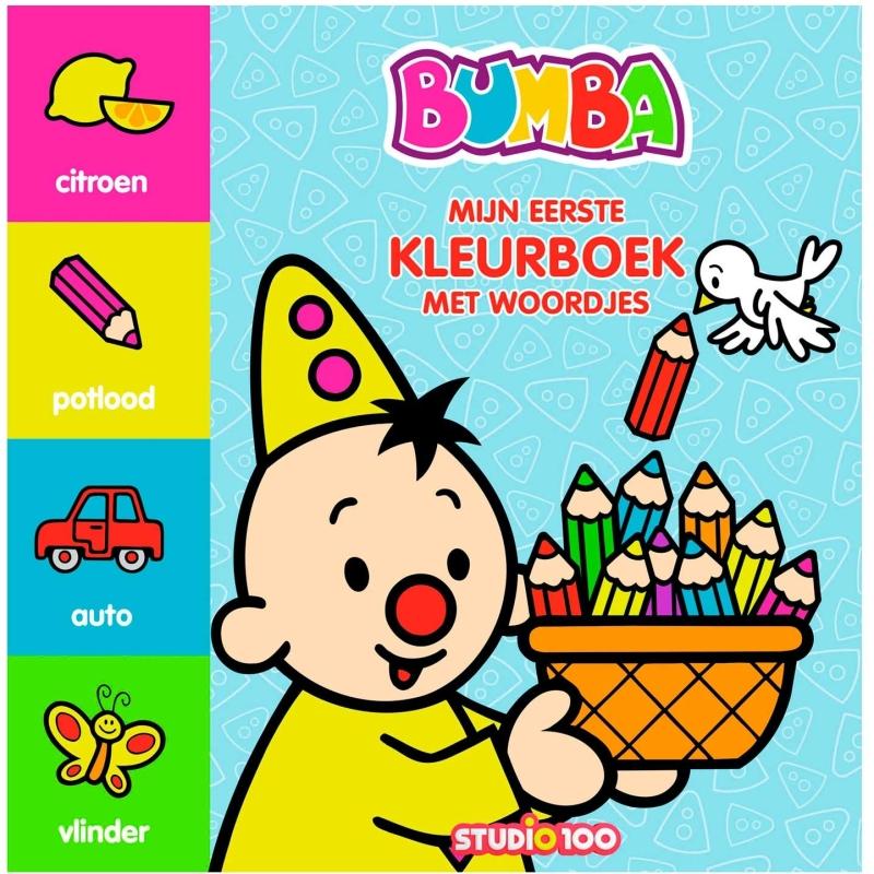 Kleurboek met woordjes Bumba Bumba