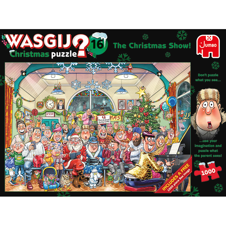Wasgij? Christmas 16 The Christmas Show! puzzels