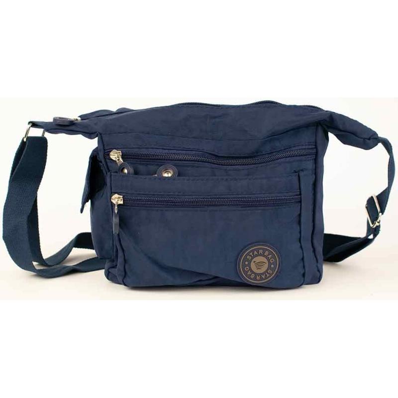 Reistas Starbag blauw - 22x20x10 cm - Schoudertas