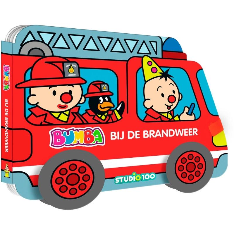 Boek Bumba - Brandweerwagen Bumba