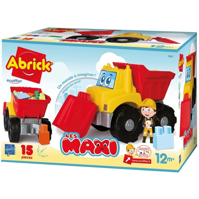 Maxi Graafmachine met Bouwblokken
