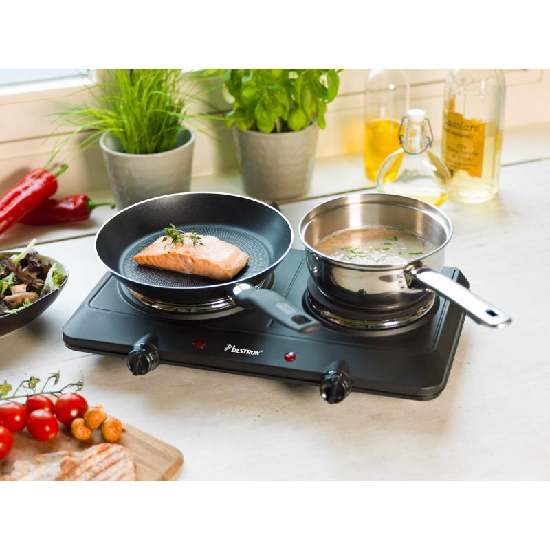 AHP250D Dubbele kookplaat