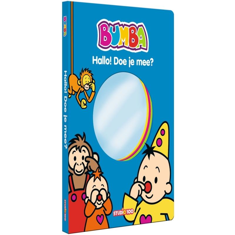 Boek Bumba met spiegel - Hallo doe je mee Bumba
