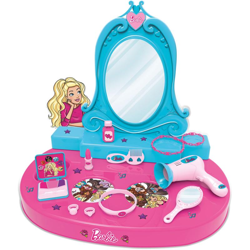 Barbie Kap Studio met Accessoires