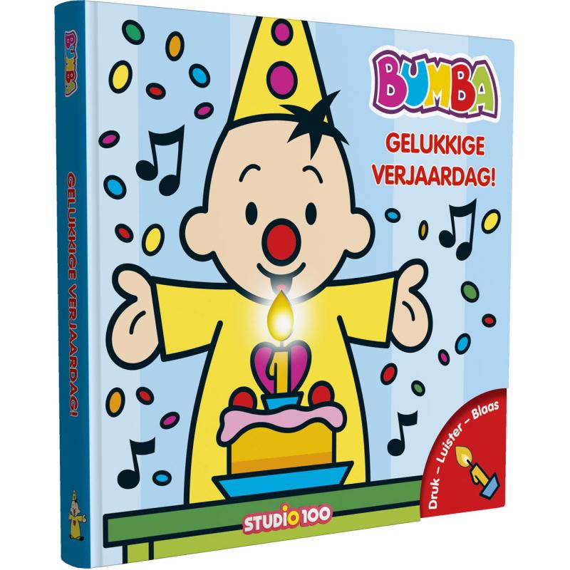 Boek Bumba - Verjaardagsboek met kaars en muziek Bumba