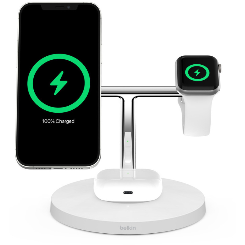 Boost Charge Pro 3-in-1 draadloze lader met MagSafe