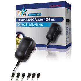 HQ, Universele AC-DC Adapter 1000mA