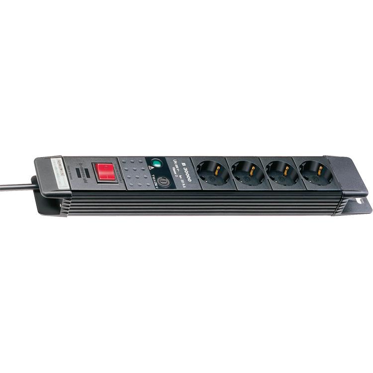 Premium-Line 30000A +surge protection 1,8m 4x