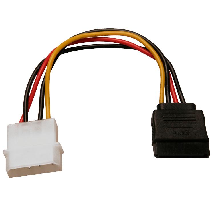 Adapter 4-Pin Molex > 15-Pin SATA