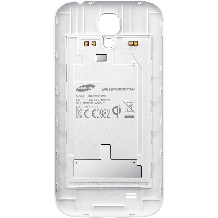 Wireless Charging Cover White