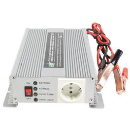 HQ HQ-INV600C-12 Gelijkstroom-wisselstroomomzetter + batterij-oplader 12 V 600 Watt uitgangen: 2