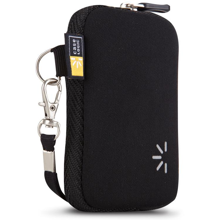 , Universeel Neopreen Pocket Screen Protectie Compact (Zwart)