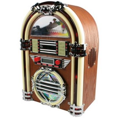 , Retro Jukebox met AM-FM radio en CD-speler