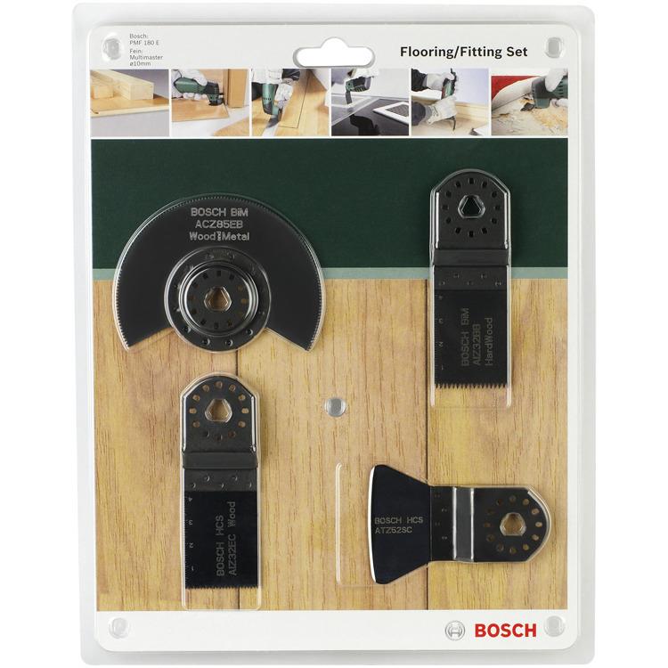 4-delige vloer--inbouwset