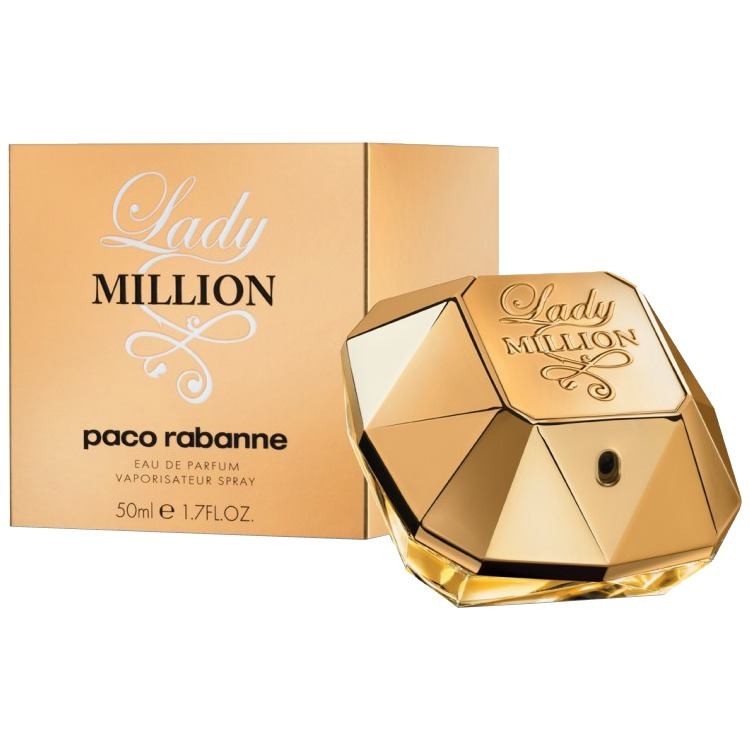 Lady Million eau de parfum, 50 ml