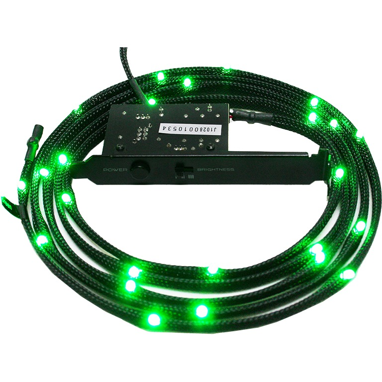 Sleeved groen LED Kit, 2 meter