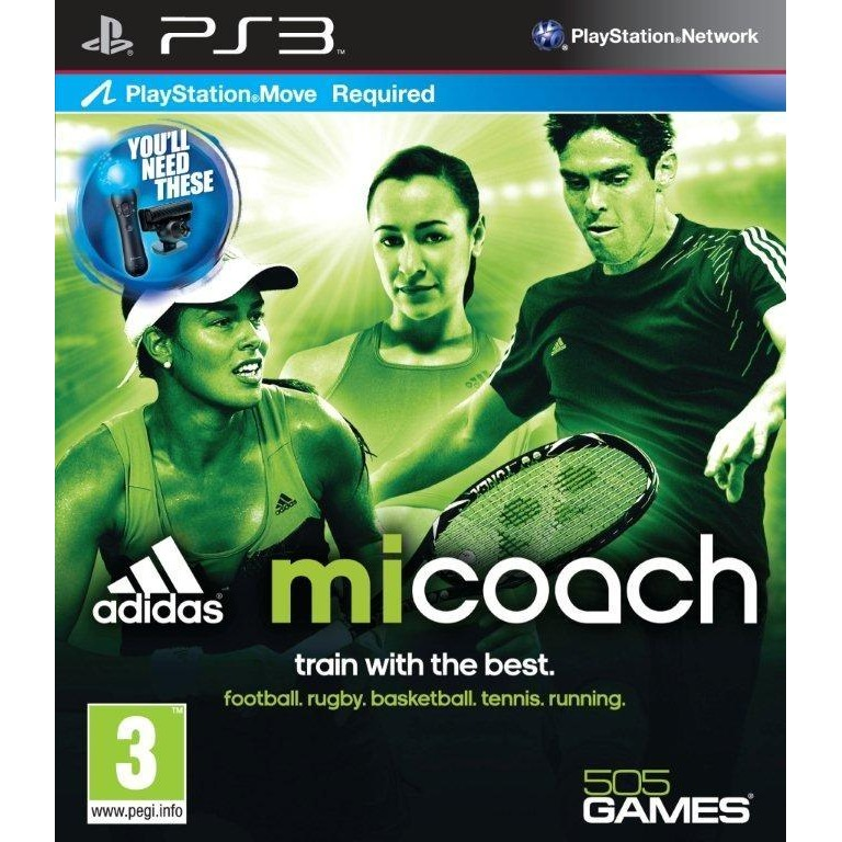 Adidas Micoach (move) Ps3