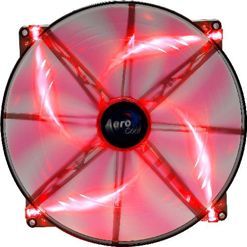 Silent Master 200mm Red LED