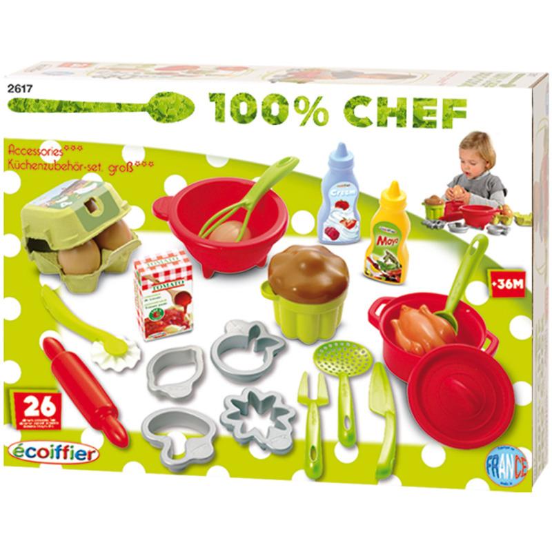 100% Chef Bak En Kook Set