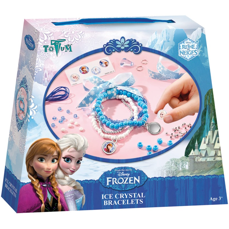 ToTu Armbandjes maken frozen totum: ijsk