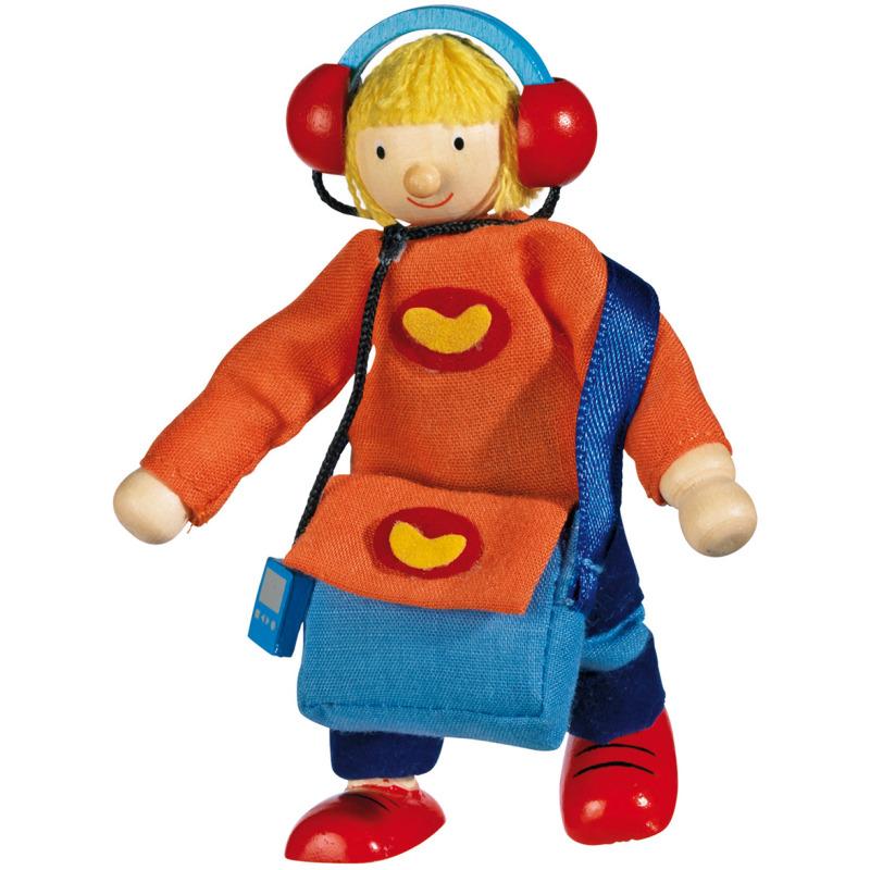 poppenhuis pop zoon