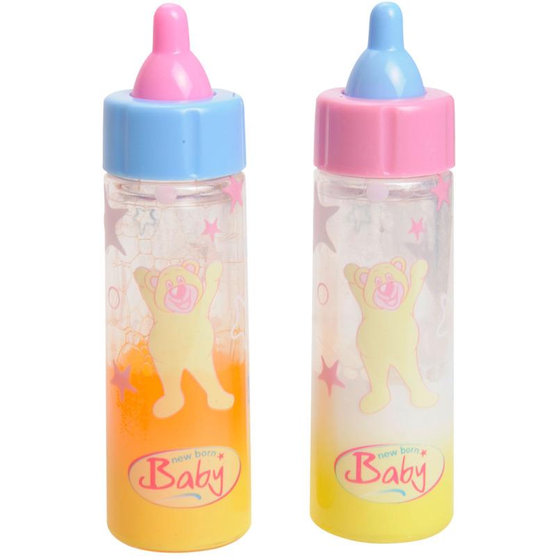 New Born Baby magische drinkfles, 2 stuks