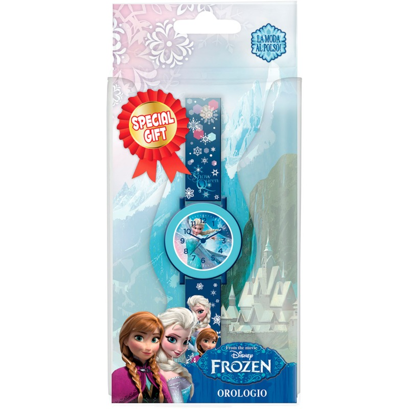 Disney frozen horloge - blauw