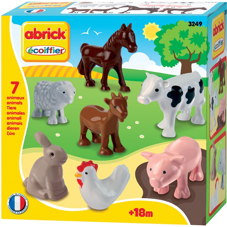 Abrick 7 boerderijdieren