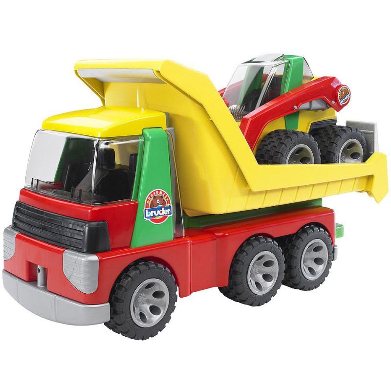 Transporter met voorlader roadmax