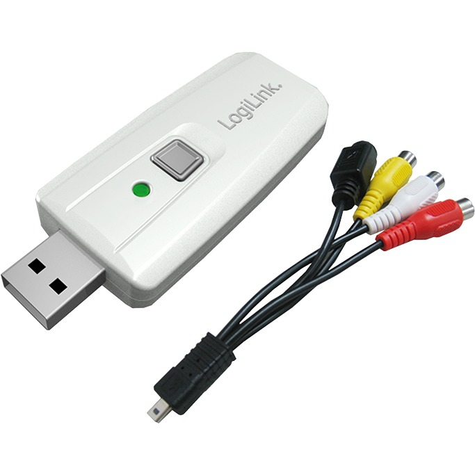 USB 2.0 Audio and Video Grabber with Snapshot
