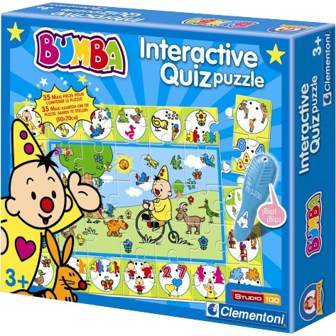 Clem Studio 100 Bumba interactieve quiz