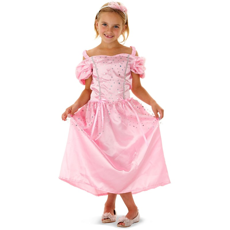 traditionele prinses verkleedset, 6 tot 8 jaar