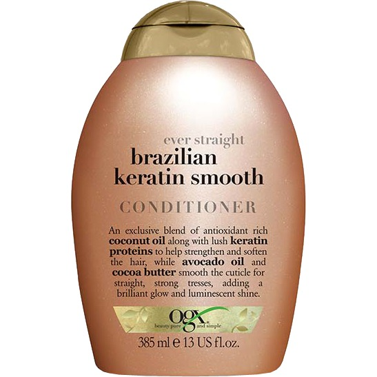 Ever Straight Brazilian Keratin Therapy conditioner, 385 ml