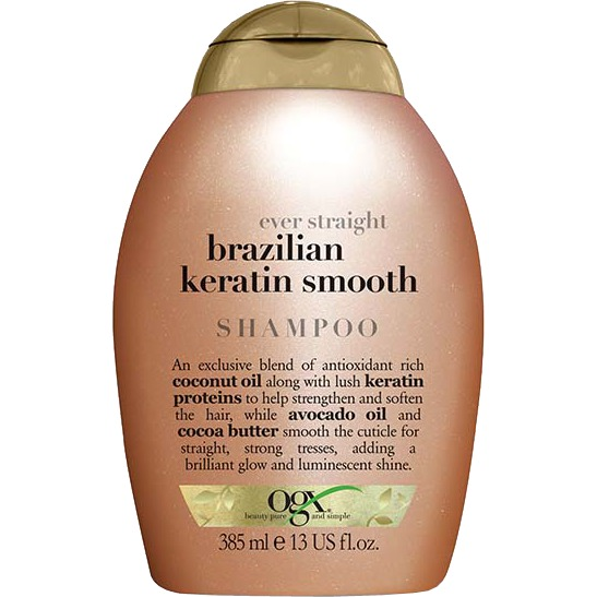 Ever Straight Brazilian Keratin Therapy shampoo, 385 ml