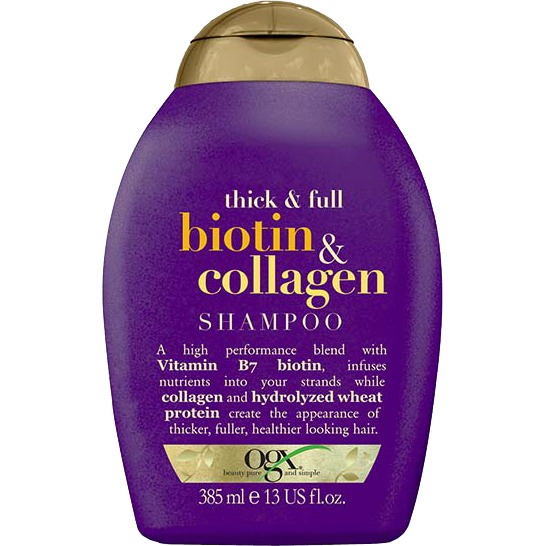Thick & Ful Biotin Collagen shampoo, 385 ml