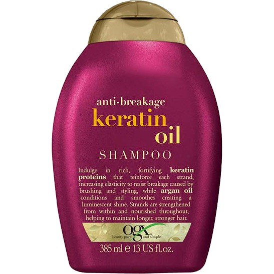 Anti-Breakage Keratin Oil shampoo, 385 ml