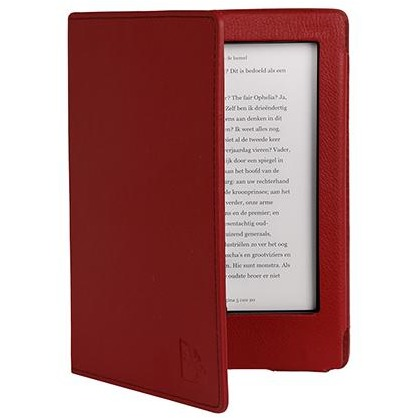 - Luxe Beschermhoes voor Kobo Aura H2O (Rood)