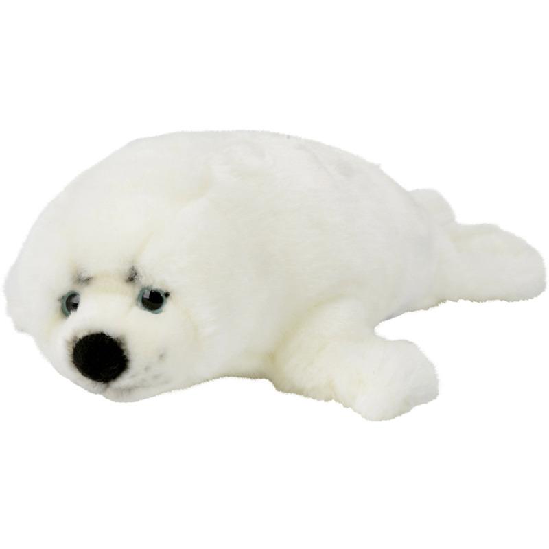 Witte Zeehond Knuffel
