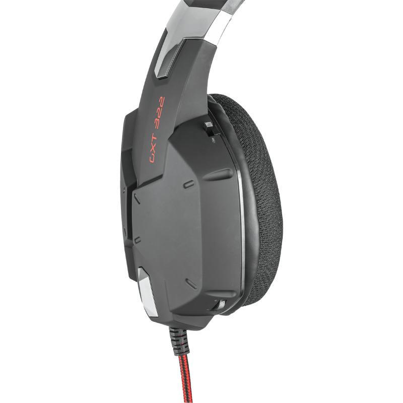 GXT 322 Dynamic headset Black