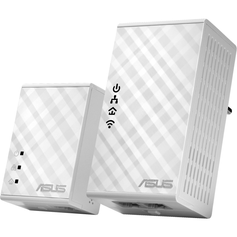 Wi-Fi HomePlug AV500 Powerline Adapter Kit