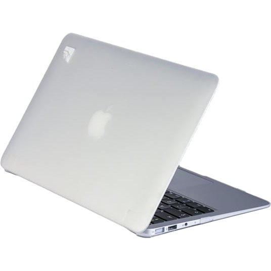 - 'Clip On' Beschermhoes voor Apple MacBook Air 13 inch (Frozen Wit)